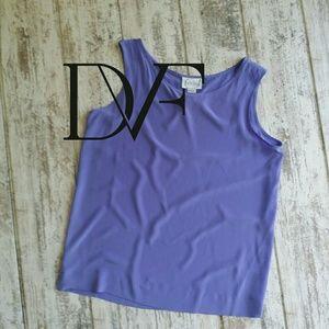 Vintage Diane von Furstenberg silk top